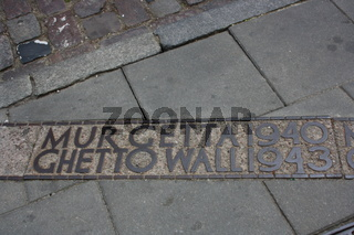 Warschau, Ghettomarkierung