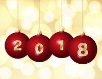 Glass Christmas Balls 2018