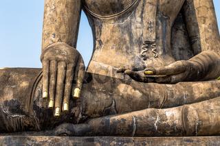 Wat Mahathat in Sukhothai historical park, Thailand