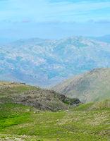 Portugal high mauntains landscape