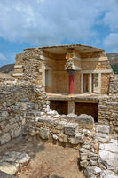 Knossos palace on Crete, Greece