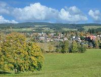 Urlaubsort Hinterzarten im Schwarzwald,Baden-Wuerttemberg,Deutschland