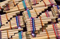 pan flute on a street market