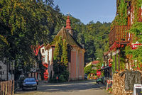 Hrensko im Elbsandsteingebirge