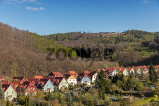 Reihe Einfamilienhäuser in Stadt Wernigerode
