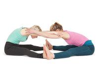 YogaFrauen Position 175