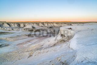 sunset over Colorado prairie