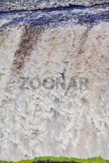 Colossal roaring waterfall Dettifoss