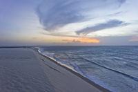 Jericoacoara, Beach sunset, Brazil