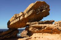Pot Alley - scenic rock formations along the coastline,  Kalbarri National Park, Western Australia