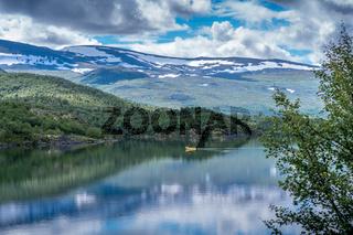 Landschaft in Jotunheimen-75