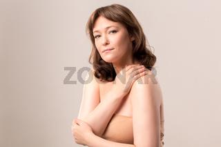 Beauty woman face portrait