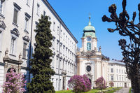 Priesterseminarkirche in Linz.