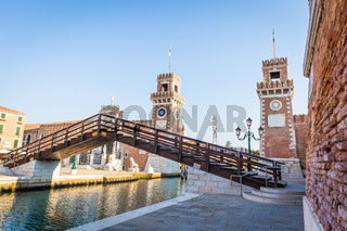 Venice Arsenale entrance