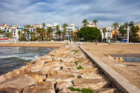 Resort Town of Sitges in Spain