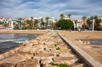 Resort Town of Sitges in Spain