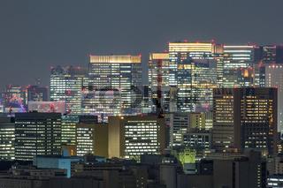 Tokyo mid town night