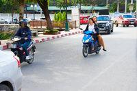 Thailand motrobike riding