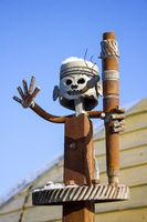 Figurine Iron man waving