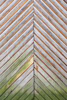 fragment of wooden door