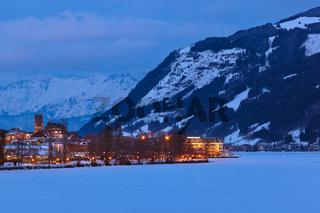 Mountains ski resort Zell am See - Austria