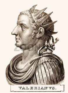 Valerian or Valerian the Elder, Roman Emperor from 253 to 260