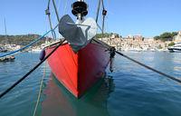 Schiff in Port de Soller, Mallorca