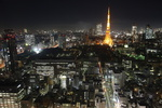 Tokyo City in Japan at night