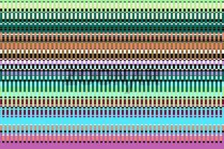 Farbiges Streifenmuster
