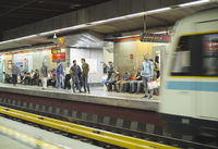 People Tehran metro staion, Iran