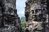 head of Bayon temple