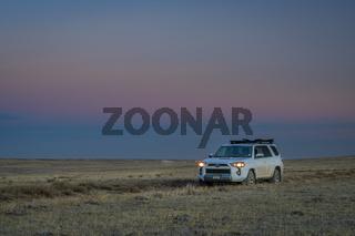 Toyota 4runner in Pawnee National Grassland