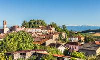 Village of Sala-Monferrato, Italy