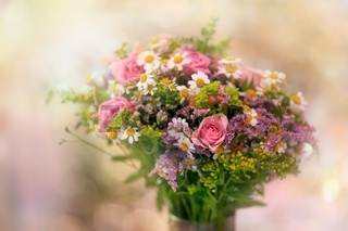 Beautiful bouquet - small focus