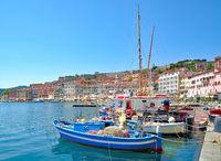 in Portoferraio auf der Insel Elba,Toskana,Mittelmeer,Italien