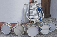 Instrumente eines Spielmannzuges