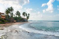 Peacefull tropical sea shore