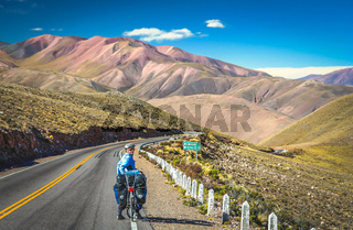 Cycling through Argentina
