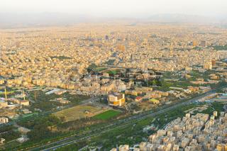 Tehran overview, Iran