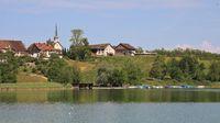 Summer day at lake Pfaeffikon.