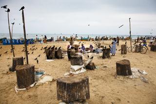 Am Strand - Negombo, Sri Lanka