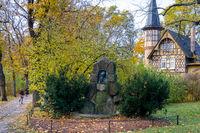 Denkmal Oberbürgermeister der Stadt Quedlinburg Gustav Brecht