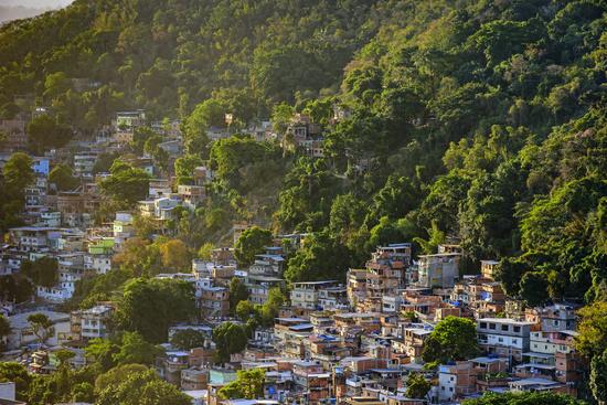 Favela in Rio de Janeiro