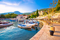 Town of Bol on Brac island waterfront view