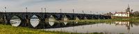 Bridge crossing the Rio Lima