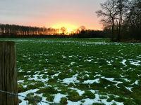 Landschaft um Wachtendonk am Niederrhein / Nordrhein-Westfalen / Deutschland