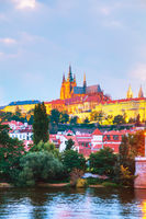 Overview of Prague, Czech Republic