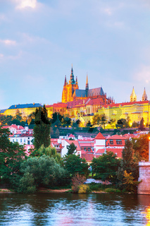 Overview of Prague, Czech Republic