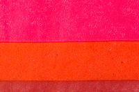 Close-Up of a coloured fabric paper pattern
