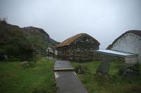 Irsih Village Glencolumbkille on the coast